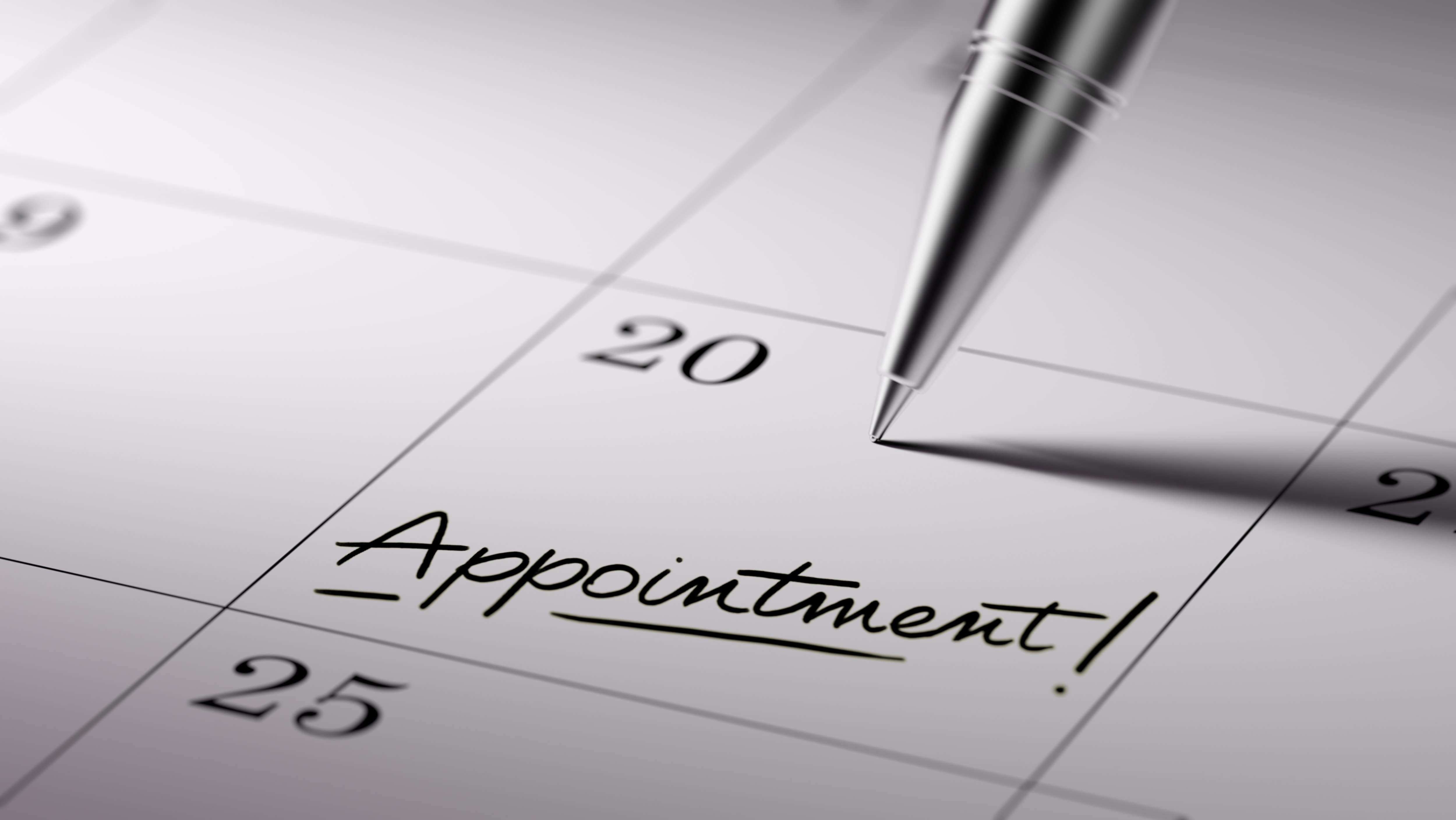 Appointment setting is a task of an executive administrative assistant
